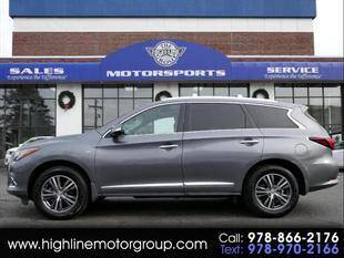 2017 Infiniti QX60 for sale at Highline Group Motorsports in Lowell MA