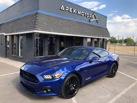 2015 Ford Mustang for sale at Apex Motors in Murray UT