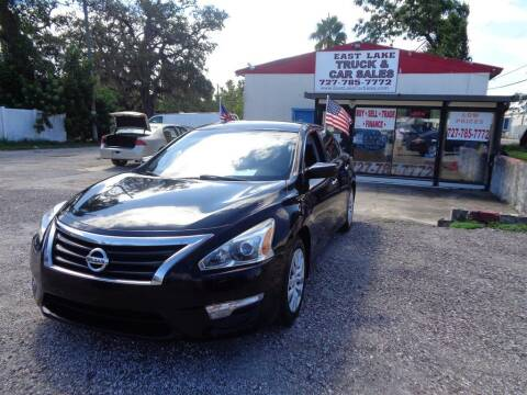 2014 Nissan Altima for sale at EAST LAKE TRUCK & CAR SALES in Holiday FL