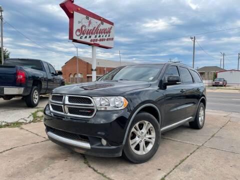 2011 Dodge Durango for sale at Southwest Car Sales in Oklahoma City OK