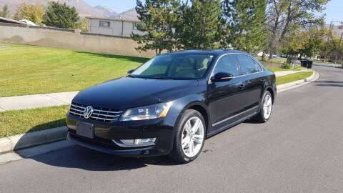 2012 Volkswagen Passat for sale at A.I. Monroe Auto Sales in Bountiful UT