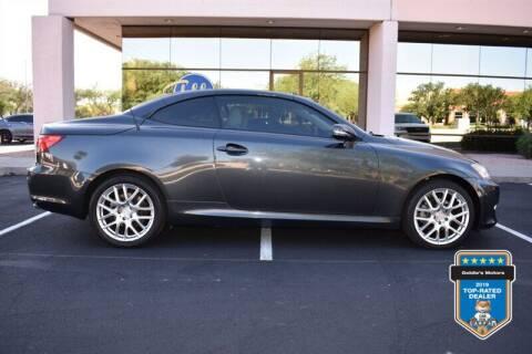 2010 Lexus IS 250C for sale at GOLDIES MOTORS in Phoenix AZ