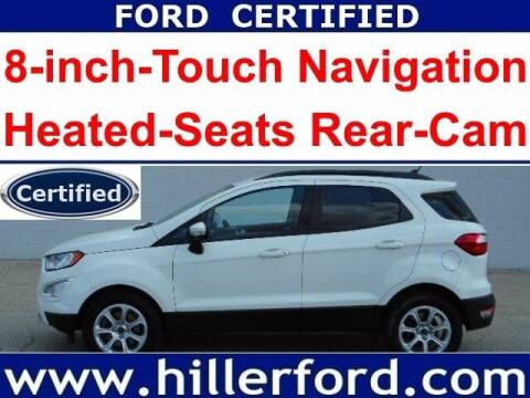 2018 Ford EcoSport for sale at HILLER FORD INC in Franklin WI