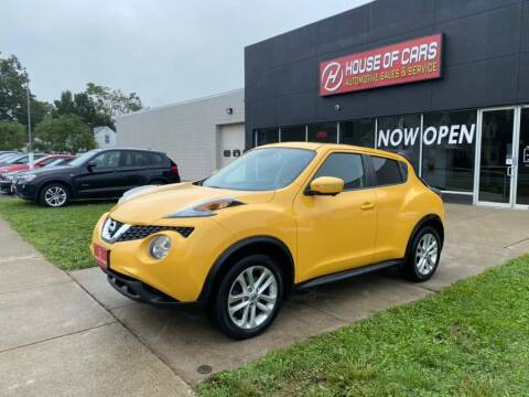 2015 Nissan JUKE for sale at HOUSE OF CARS CT in Meriden CT