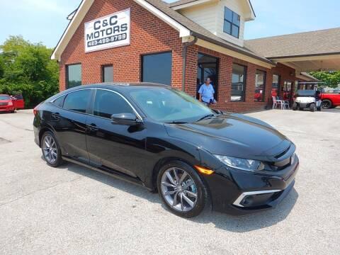 2019 Honda Civic for sale at C & C MOTORS in Chattanooga TN