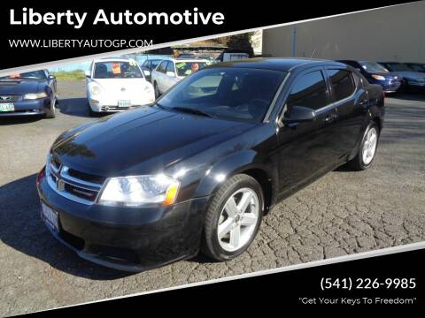 2013 Dodge Avenger for sale at Liberty Automotive in Grants Pass OR
