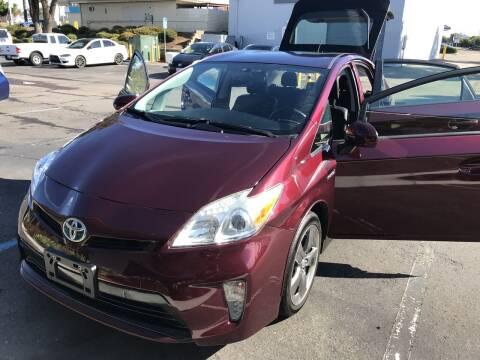 2013 Toyota Prius for sale at Cars4U in Escondido CA