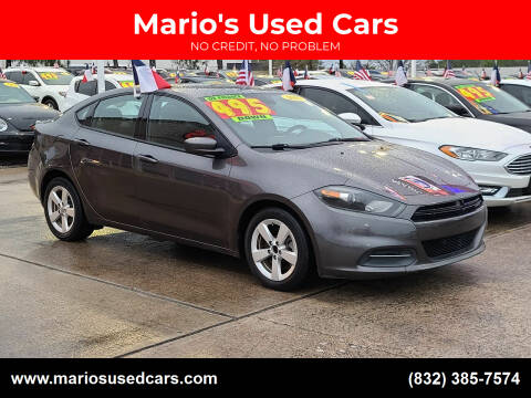 2015 Dodge Dart for sale at Mario's Used Cars in Houston TX