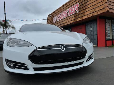 2015 Tesla Model S for sale at CARSTER in Huntington Beach CA