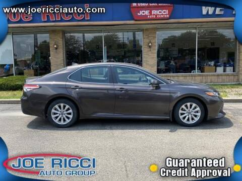 2019 Toyota Camry for sale at JOE RICCI AUTOMOTIVE in Clinton Township MI