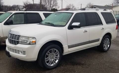 2010 Lincoln Navigator for sale at Kohmann Motors & Mowers in Minerva OH