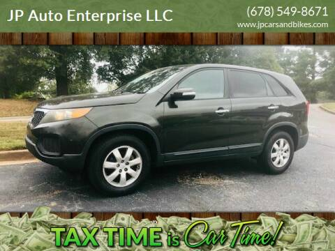2012 Kia Sorento for sale at JP Auto Enterprise LLC in Duluth GA