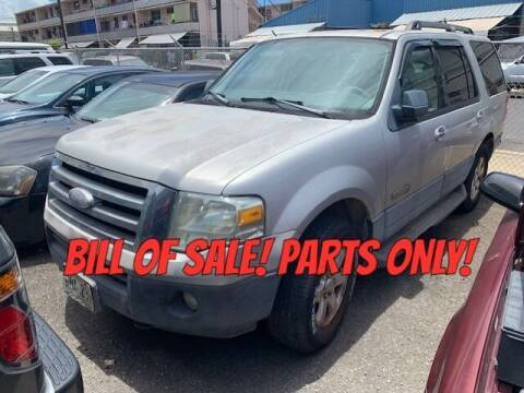 2007 Ford Expedition for sale at Bayview Auto Sales in Waipahu HI