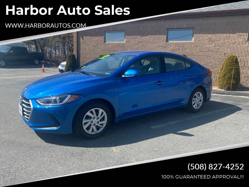 2017 Hyundai Elantra for sale at Harbor Auto Sales in Hyannis MA