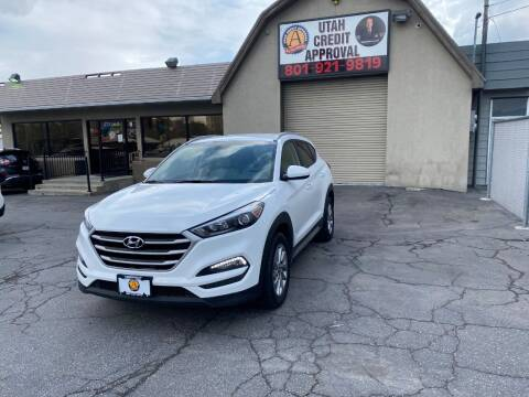 2018 Hyundai Tucson for sale at Utah Credit Approval Auto Sales in Murray UT