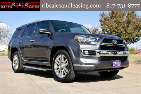 2014 Toyota 4Runner for sale at RLB Sales and Leasing in Fort Worth TX