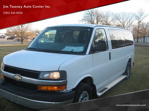 2014 Chevrolet Express Passenger for sale at Jim Tawney Auto Center Inc in Ottawa KS