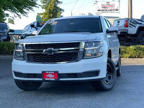 2016 Chevrolet Tahoe for sale at Real Deal Cars in Everett WA