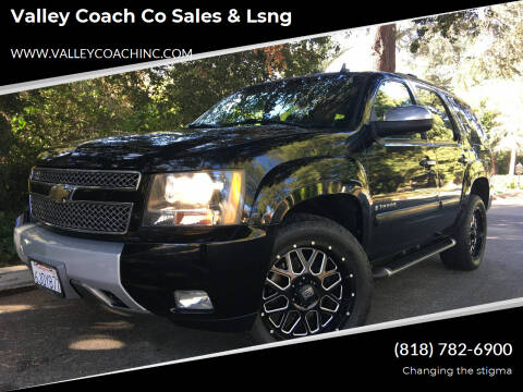 2008 Chevrolet Tahoe for sale at Valley Coach Co Sales & Lsng in Van Nuys CA