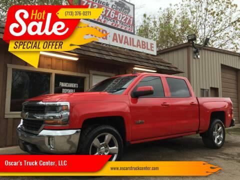 2016 Chevrolet Silverado 1500 for sale at Oscar's Truck Center, LLC in Houston TX
