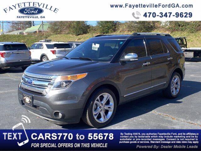 2015 Ford Explorer for sale at FAYETTEVILLEFORDFLEETSALES.COM in Fayetteville GA