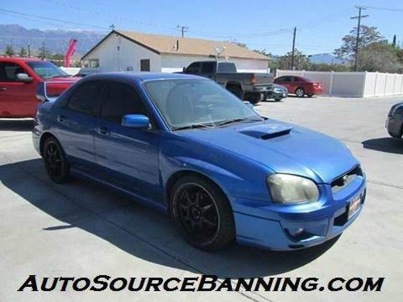 2005 Subaru Impreza for sale at Auto Source II in Banning CA