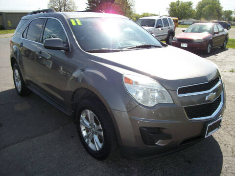 2011 Chevrolet Equinox for sale at USED CAR FACTORY in Janesville WI