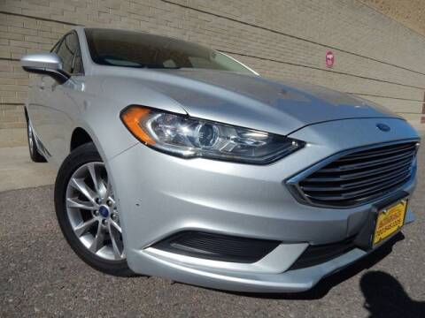 2017 Ford Fusion for sale at Altitude Auto Sales in Denver CO