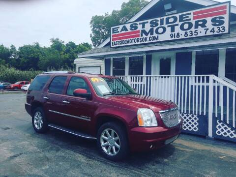 2009 GMC Yukon for sale at EASTSIDE MOTORS in Tulsa OK