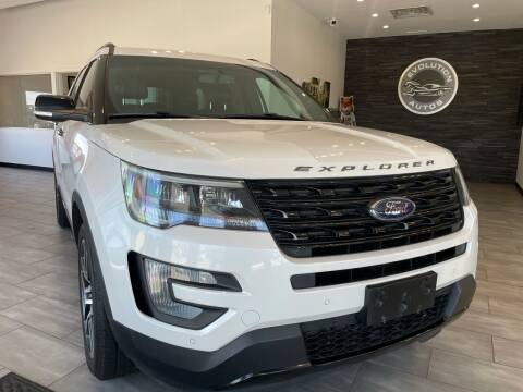 2016 Ford Explorer for sale at Evolution Autos in Whiteland IN
