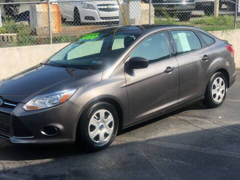 2012 Ford Focus for sale at Ginters Auto Sales in Camp Hill PA