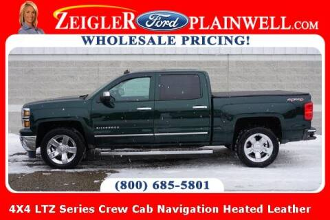 2014 Chevrolet Silverado 1500 for sale at Zeigler Ford of Plainwell- Jeff Bishop in Plainwell MI