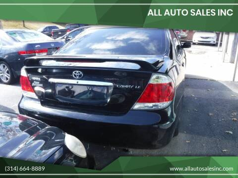 2005 Toyota Camry for sale at ALL Auto Sales Inc in Saint Louis MO