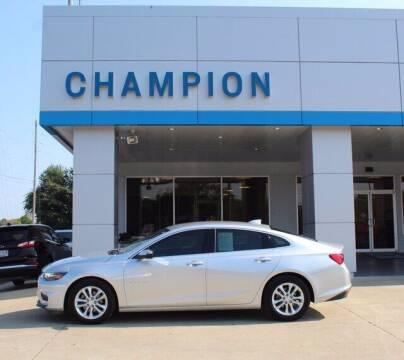 2017 Chevrolet Malibu for sale at Champion Chevrolet in Athens AL