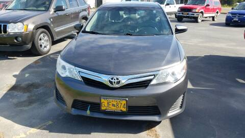 2012 Toyota Camry for sale at Great Alaska Car Co. in Soldotna AK
