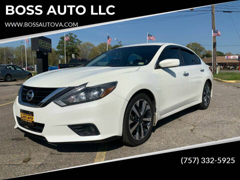 2017 Nissan Altima for sale at BOSS AUTO LLC in Norfolk VA