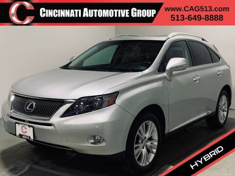 2010 Lexus RX 450h for sale at Cincinnati Automotive Group in Lebanon OH