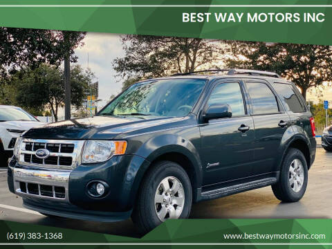 2009 Ford Escape Hybrid for sale at BEST WAY MOTORS INC in San Diego CA