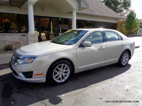 2010 Ford Fusion for sale at DEALS UNLIMITED INC in Portage MI