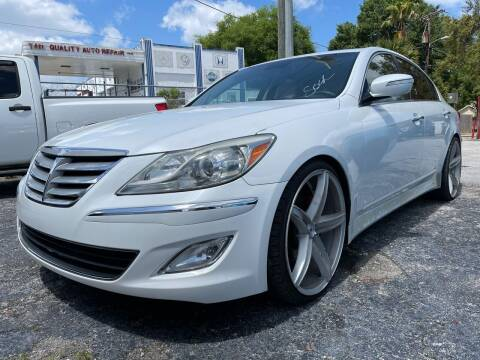 2013 Hyundai Genesis for sale at Always Approved Autos in Tampa FL