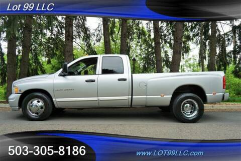 2005 Dodge Ram Pickup 3500 for sale at LOT 99 LLC in Milwaukie OR
