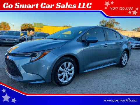 2020 Toyota Corolla for sale at Go Smart Car Sales LLC in Winter Garden FL