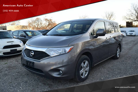 2015 Nissan Quest for sale at American Auto Center in Austin TX