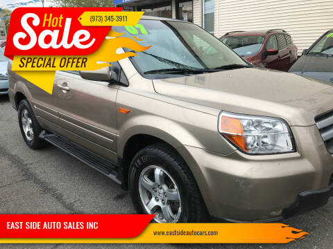 2007 Honda Pilot for sale at EAST SIDE AUTO SALES INC in Paterson NJ