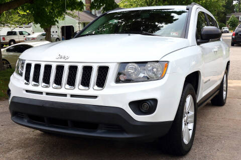 2016 Jeep Compass for sale at Prime Auto Sales LLC in Virginia Beach VA