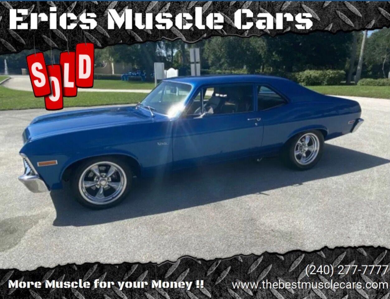 1971 Chevrolet Nova SOLD SOLD SOLD