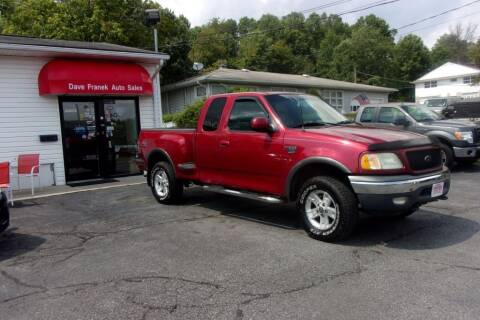 2002 Ford F-150 for sale at Dave Franek Automotive in Wantage NJ