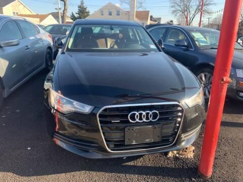 2013 Audi A6 for sale at Park Avenue Auto Lot Inc in Linden NJ