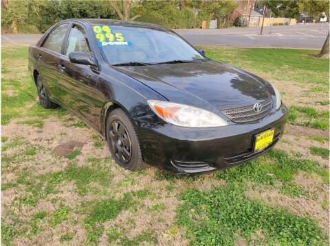 2004 Toyota Camry for sale at D & I Auto Sales in Modesto CA