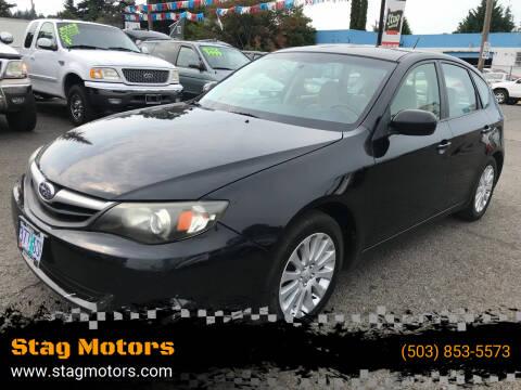 2010 Subaru Impreza for sale at Stag Motors in Portland OR